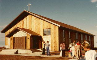 First phase of the Church Building completed!