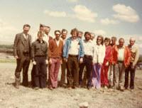 group of church members